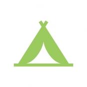 iPhone、iPadアプリ「キャンプなび」のアイコン