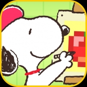 iPhone、iPadアプリ「スヌーピーお絵かきパズル」のアイコン