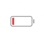 iPhone、iPadアプリ「充電あと5%-バッテリー残量5%以下専用ひまチャットアプリ」のアイコン