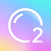 iPhone、iPadアプリ「O2Cam - 呼吸する写真」のアイコン