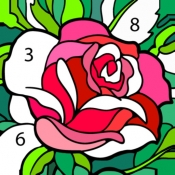 iPhone、iPadアプリ「Happy Color™ – 数字で塗り絵。数字で色ぬりえ」のアイコン