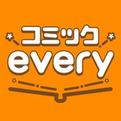 iPhone、iPadアプリ「コミックevery - By まんが王国」のアイコン