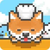 iPhone、iPadアプリ「柴犬のクレープ屋さん - かわいい犬たちと一緒に料理しよう!」のアイコン