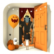 iPhone、iPadアプリ「脱出ゲーム Spooky 雨と少女とぬいぐるみ」のアイコン