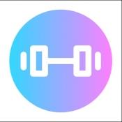 iPhone、iPadアプリ「筋トレ カレンダー 女子も使うフィットネス・筋トレ記録アプリ」のアイコン