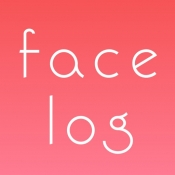 iPhone、iPadアプリ「FACE LOG」のアイコン