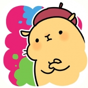 iPhone、iPadアプリ「大人の塗り絵 パズル 動物編」のアイコン