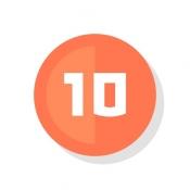 iPhone、iPadアプリ「Let's10!」のアイコン