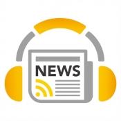 iPhone、iPadアプリ「英語ニュースをリスニング NewsHolic」のアイコン