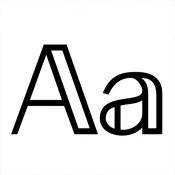 iPhone、iPadアプリ「Fonts」のアイコン