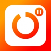 iPhone、iPadアプリ「つづきカメラ - 動画を一時停止で連続撮影」のアイコン