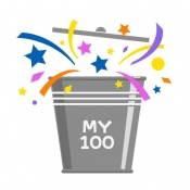 iPhone、iPadアプリ「人生で叶える夢リスト「MY BUCKET LIST 100」」のアイコン