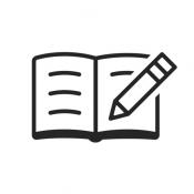 iPhone、iPadアプリ「シンプルノート - メモ帳・ノート管理(めも帳)のメモアプリ」のアイコン