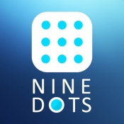 iPhone、iPadアプリ「Nine Dots - Math Puzzle -」のアイコン
