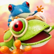 iPhone、iPadアプリ「Frogger in Toy Town」のアイコン