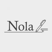 iPhone、iPadアプリ「Nola:小説を書く人のための執筆エディタツール」のアイコン
