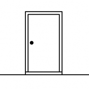 iPhone、iPadアプリ「The White Door / ホワイトドア」のアイコン