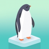 iPhone、iPadアプリ「ペンギンの島」のアイコン