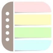 iPhone、iPadアプリ「付箋メモ帳型ToDoリスト - メモ ウィジェット」のアイコン