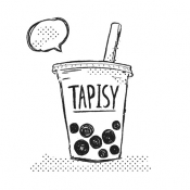 iPhone、iPadアプリ「tapisy タピオカ好きが繋がるタピオカSNS」のアイコン