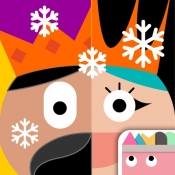 iPhone、iPadアプリ「Thinkrolls Kings & Queens」のアイコン