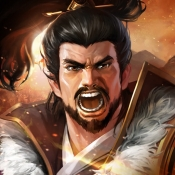 iPhone、iPadアプリ「豪炎三国志~覇王の無双乱戦~」のアイコン