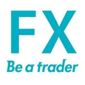 iPhone、iPadアプリ「Be a trader ! - FX入門デモトレードアプリ」のアイコン
