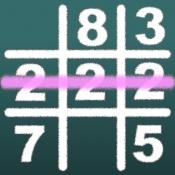 iPhone、iPadアプリ「数字マルバツ IQパズルで脳トレ」のアイコン