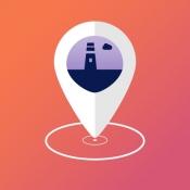 iPhone、iPadアプリ「エリアアラーム - 場所通知と行動履歴」のアイコン