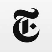 iPhone、iPadアプリ「The New York Times」のアイコン