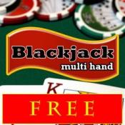 iPhone、iPadアプリ「Blackjack 21 Pro Multi-Hand FREE + (Blackjack Pass/Spanish 21/Super 31)」のアイコン