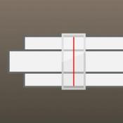 iPhone、iPadアプリ「計算尺」のアイコン