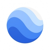 iPhone、iPadアプリ「Google Earth」のアイコン