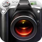 iPhone、iPadアプリ「Big Camera Button - 写真を撮るにはどこかをタップ」のアイコン