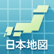 iPhone、iPadアプリ「JAPAN MAP -by いつもNAVI-」のアイコン