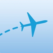iPhone、iPadアプリ「FlightAware Flight Tracker」のアイコン