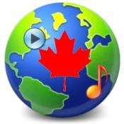 iPhone、iPadアプリ「カナダのラジオ」のアイコン