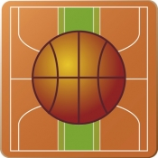 iPhone、iPadアプリ「Basket board (バスケットボード)」のアイコン