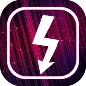 iPhone、iPadアプリ「Flash for Free – Best Photo Editor with Flash & Awesome FX Effects」のアイコン