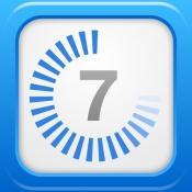 iPhone、iPadアプリ「稼働日カウントダウン」のアイコン