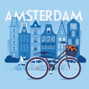 iPhone、iPadアプリ「アムステルダム 旅行 ガイド &マップ」のアイコン
