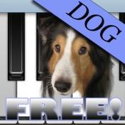iPhone、iPadアプリ「犬ピアノ(無料) - Dog Piano Free」のアイコン