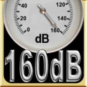 iPhone、iPadアプリ「160デシベルサウンドレベルメーター」のアイコン