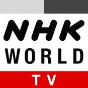 iPhone、iPadアプリ「NHK WORLD TV」のアイコン