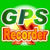 iPhone、iPadアプリ「GPS Recorder X」のアイコン