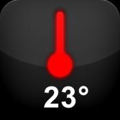 iPhone、iPadアプリ「温度計」のアイコン