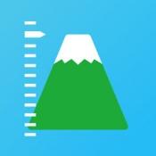 iPhone、iPadアプリ「標高ワカール - 山登り・防災のための海抜測定」のアイコン