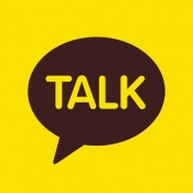 iPhone、iPadアプリ「カカオトーク- KakaoTalk」のアイコン