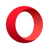 iPhone、iPadアプリ「Opera Mini web browser」のアイコン
