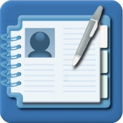 iPhone、iPadアプリ「連絡帳&名刺のグループ管理(会社分類対応版)」のアイコン